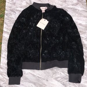 Miss Selfridge ✨ Sequin Floral Jacket